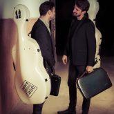 Accord case and A-case 2 Cellos